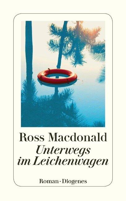 Unterwegs im Leichenwagen - Ross Macdonald