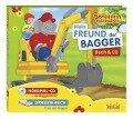 Benjamin Blümchen: Mein Freund, der Bagger. CD und Buch -