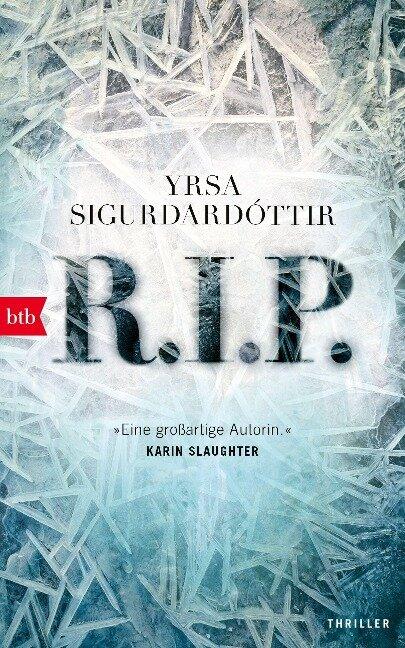 R.I.P. - Yrsa Sigurdardóttir