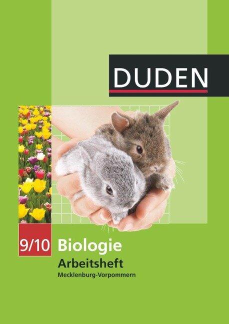 Duden Biologie 9/10 Arbeitsheft. Mecklenburg Vorpommern Realschule -