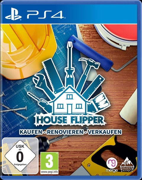 House Flipper (PlayStation PS4) -