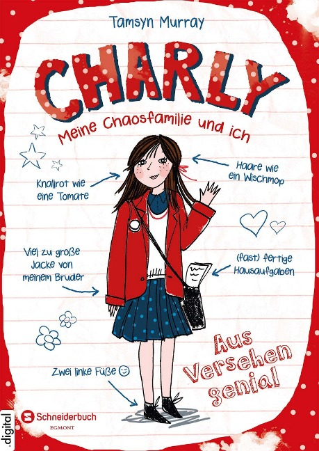 Charly - Meine Chaosfamilie und ich, Band 01 - Tamsyn Murray