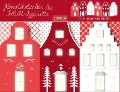 """Adventskalender & Teelichtleporello """"Weihnachtsstraße"""" -"""