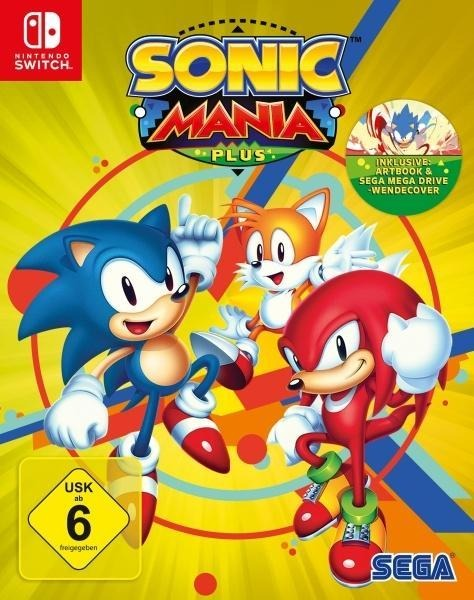 Sonic Mania Plus (Nintendo Switch) -
