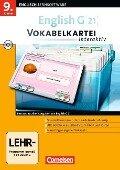 English Coach G 21. Ausgaben A, B und D 5. Abschlussband 5-jährige Sekundarstufe I. Vokabelkartei interaktiv -