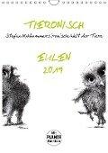 Tieronisch Eulen (Wandkalender 2019 DIN A4 hoch) - Stefan Kahlhammer