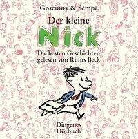 Die kleine Nick - Die besten Geschichten, 8 Audio-CDs - René Goscinny, Jean-Jacques Sempé