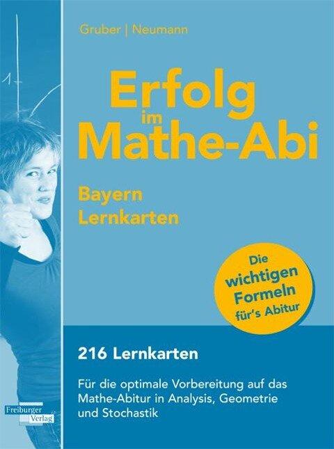 Erfolg im Mathe-Abi Bayern Lernkarten - Helmut Gruber, Robert Neumann