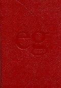 Evangelisches Gesangbuch. Ausgabe für die Landeskirchen Rheinland, Westfalen und Lippe. Taschenausgabe rot mit Goldschnitt im Schuber -