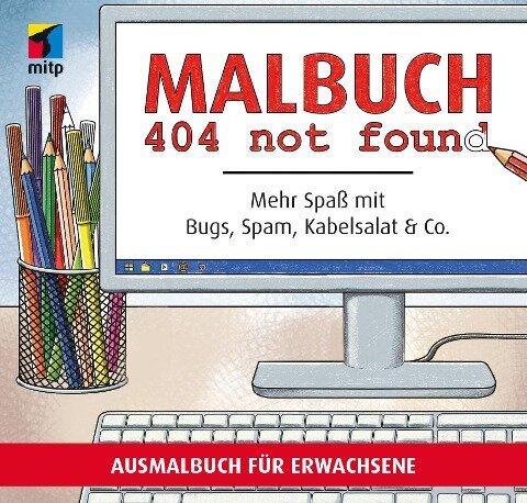 Malbuch 404 not found - Linda Bunge