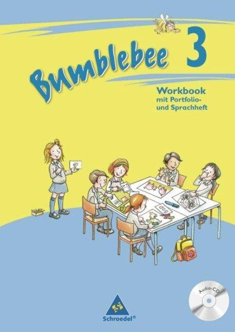 Bumblebee 3. Workbook mit Pupil's CD Ausgabe -