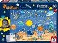 Die Maus, 60 Teile - Kinderpuzzle mit Turnbeutel -