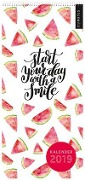 myNOTES Wandkalender 2019 Start your day with a smile -