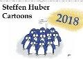 Steffen Huber Cartoons - 2018 (Wandkalender 2018 DIN A3 quer) - Steffen Huber