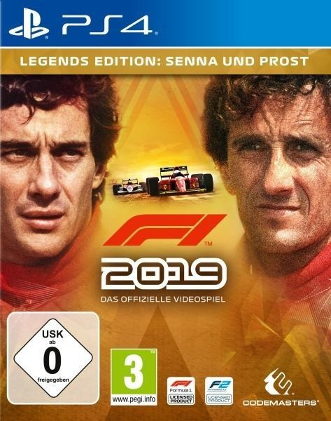 F1 2019 Legends Edition (PlayStation PS4) -