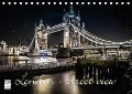 London - street view (Tischkalender 2018 DIN A5 quer) - © YOUR pageMaker
