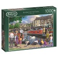 Sunday on the Canal - 1000 Teile Puzzle -