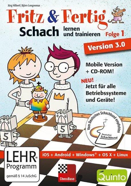 Fritz&Fertig! Folge 1: Schach lernen und trainieren - Version 3 -