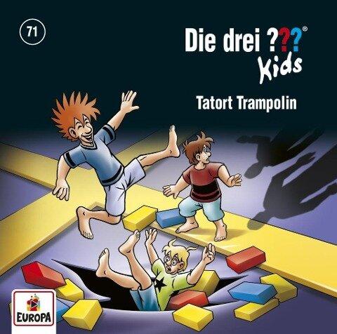 Die drei ??? Kids 71: Tatort Trampolin - Ulf Blank
