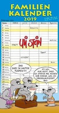 Uli Stein Familienkalender 2019 - Uli Stein