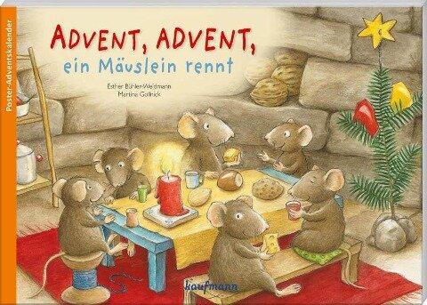 Advent, Advent, ein Mäuslein rennt - Esther Bühler-Weidmann