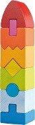 Stapelspiel Regenbogen-Hochhaus -