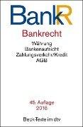 Bankrecht (BankR) -