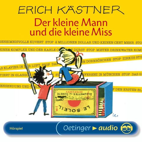 Der kleine Mann und die kleine Miss - Erich Kästner