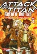 Attack on Titan - Before the Fall 5 - Hajime Isayama, Ryo Suzukaze