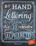 Handlettering. Die 33 schönsten Alphabete mit Rahmen, Ornamenten und Bordüren - Norbert Pautner