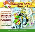 Geronimo Stilton Books 1-3: #1: Lost Treasure of the Emerald Eye; #2: The Curse of the Cheese Pyramid; #3: Cat and Mouse in a Haunted House - Geronimo Stilton