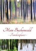 Mein Buchenwald - Familienplaner (Wandkalender 2018 DIN A4 hoch) Dieser erfolgreiche Kalender wurde dieses Jahr mit gleichen Bildern und aktualisiertem Kalendarium wiederveröffentlicht. - Klaus Eppele