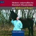 Heitere ostpreußische Mundart-Plaudereien 1. CD - Waltraud Beger