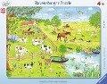 Spaziergang auf dem Land. Kinderpuzzle 48 Teile -
