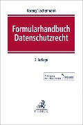 Formularhandbuch Datenschutzrecht -