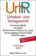 Urheber- und Verlagsrecht -