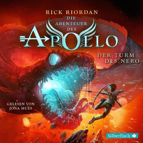 Die Abenteuer des Apollo 5: Der Turm des Nero - Rick Riordan