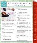 Business Math Formulas (Speedy Study Guides) - Speedy Publishing