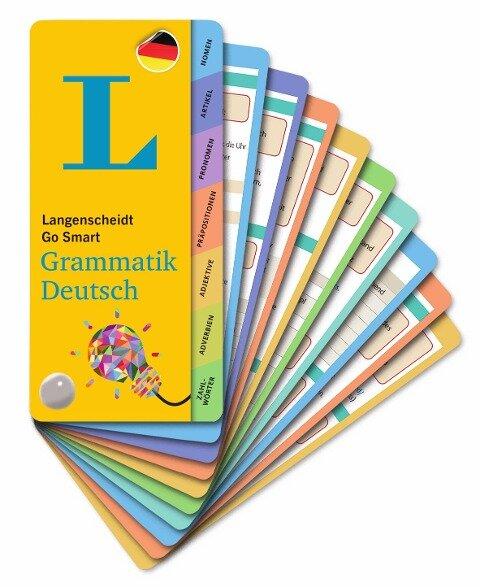 Langenscheidt Go Smart Grammatik Deutsch - Fächer -