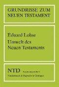 Umwelt des Neuen Testaments - Eduard Lohse