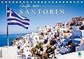 Grüße aus Santorin (Tischkalender 2017 DIN A5 quer) - CALVENDO
