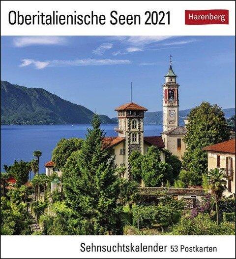 Oberitalienische Seen Kalender 2021 -