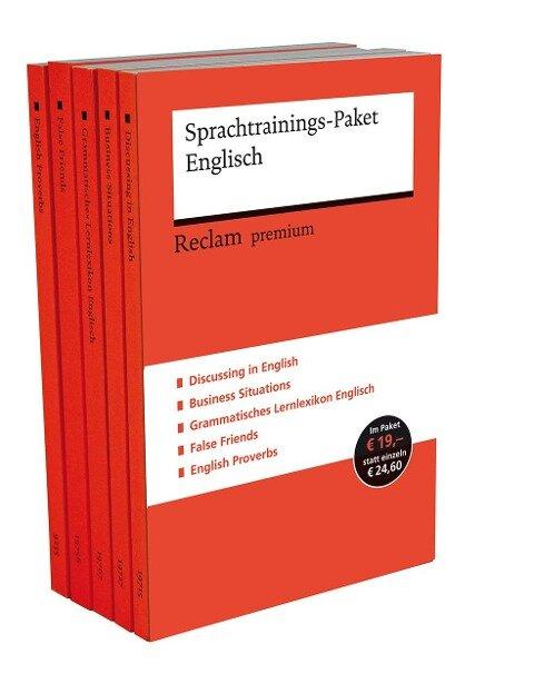Sprachtrainings-Paket Englisch - Heinz-Otto Hohmann, Andrew Williams, Wolfgang Mieder, Burkhard Dretzke, Margaret Nester