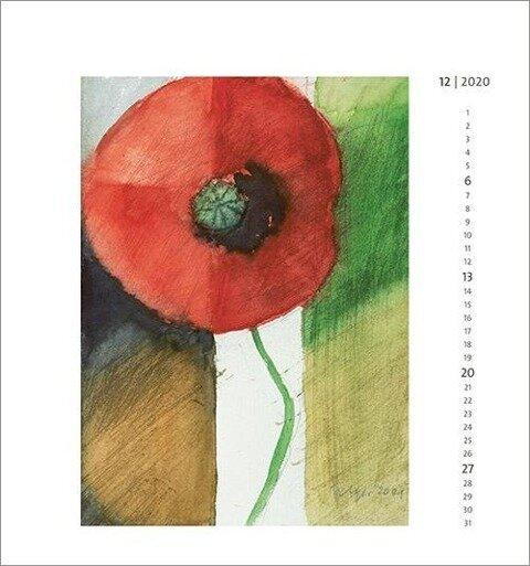 Blütentraum 2020 - Wandkalender -