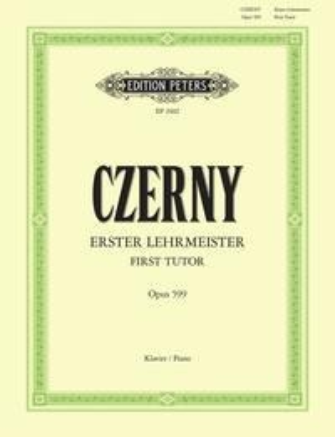 Erster Lehrmeister op. 599 - Carl Czerny