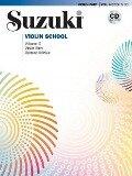 Suzuki Violin School 3 Revised Edition mit CD - Shinichi Suzuki