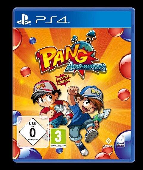 Pang Adventures Buster Edition (PlayStation PS4) -