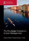 Routledge Companion to Lean Management -
