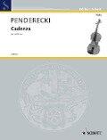 Cadenza - Krzysztof Penderecki