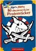 Käpt'n Sharky: 80 abenteuerliche Piratensticker -